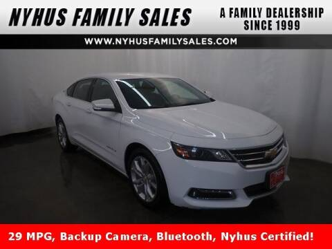 2019 Chevrolet Impala for sale at Nyhus Family Sales in Perham MN