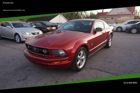 2007 Ford Mustang for sale at Ecocars Inc. in Nashville TN