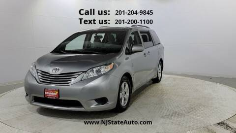 2015 Toyota Sienna for sale at NJ State Auto Used Cars in Jersey City NJ