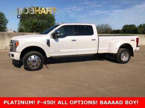 2019 Ford F-450 Super Duty for sale at BOB HART CHEVROLET in Vinita OK