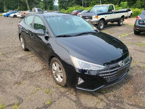 2019 Hyundai Elantra for sale at BETTER BUYS AUTO INC in East Windsor CT