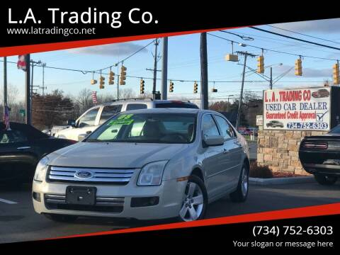 2008 Ford Fusion for sale at L.A. Trading Co. in Woodhaven MI