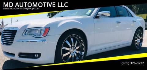 2013 Chrysler 300 for sale at MD AUTOMOTIVE LLC in Slidell LA