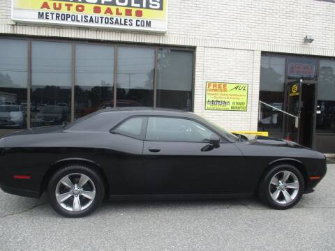 2015 Dodge Challenger for sale at Metropolis Auto Sales in Pelham NH