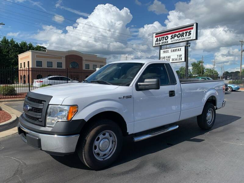 2014 Ford F-150 for sale at Auto Sports in Hickory NC