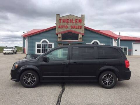 2017 Dodge Grand Caravan for sale at THEILEN AUTO SALES in Clear Lake IA