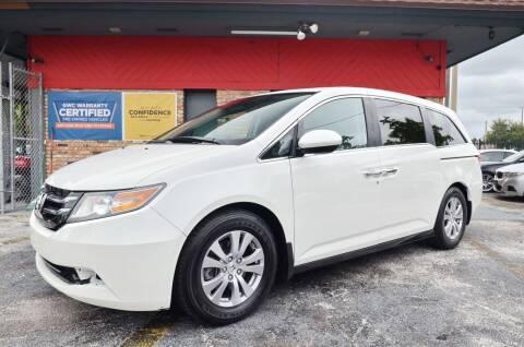 2014 Honda Odyssey for sale at ALWAYSSOLD123 INC in North Miami Beach FL