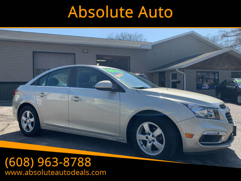 2016 Chevrolet Cruze Limited for sale at Absolute Auto in Baraboo WI