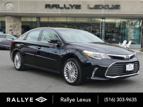 2018 Toyota Avalon for sale at RALLYE LEXUS in Glen Cove NY