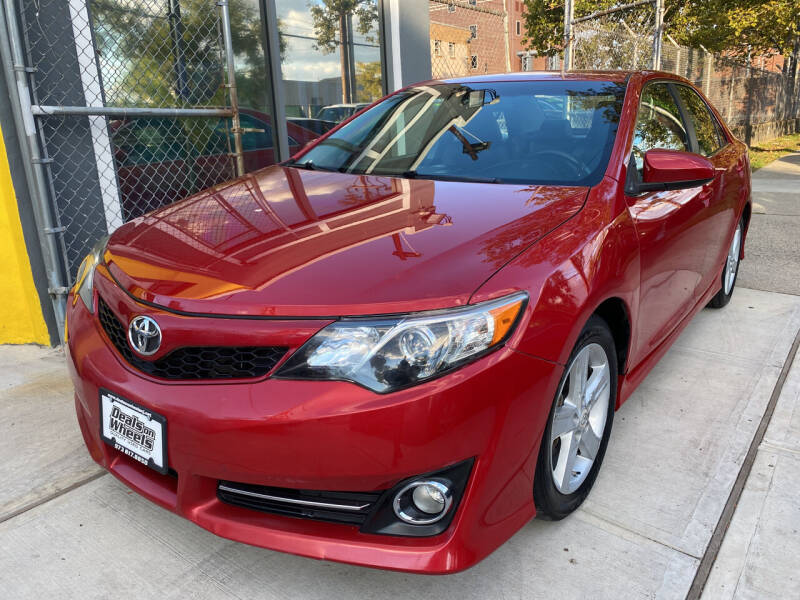 2012 Toyota Camry for sale at DEALS ON WHEELS in Newark NJ
