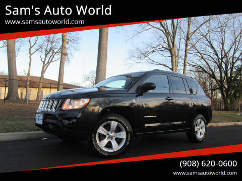 2011 Jeep Compass for sale at Sam's Auto World in Roselle NJ