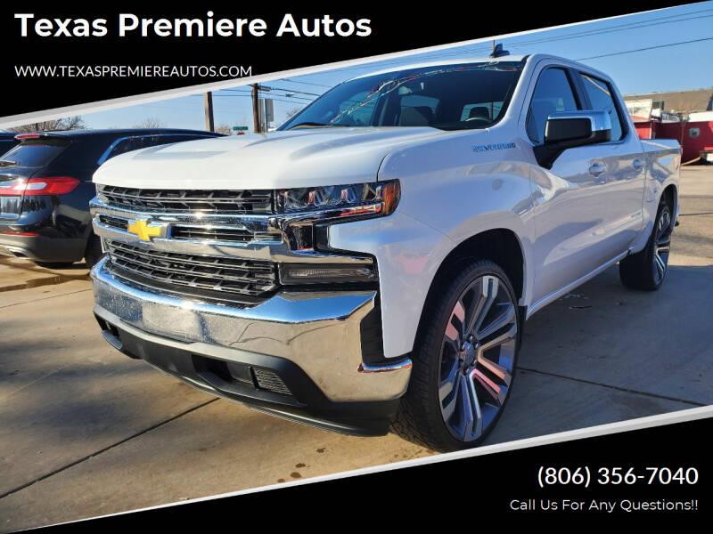 2020 Chevrolet Silverado 1500 for sale at Texas Premiere Autos in Amarillo TX
