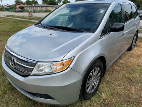 2012 Honda Odyssey for sale at Eden Cars Inc in Hollywood FL