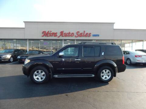 2012 Nissan Pathfinder for sale at Mira Auto Sales in Dayton OH