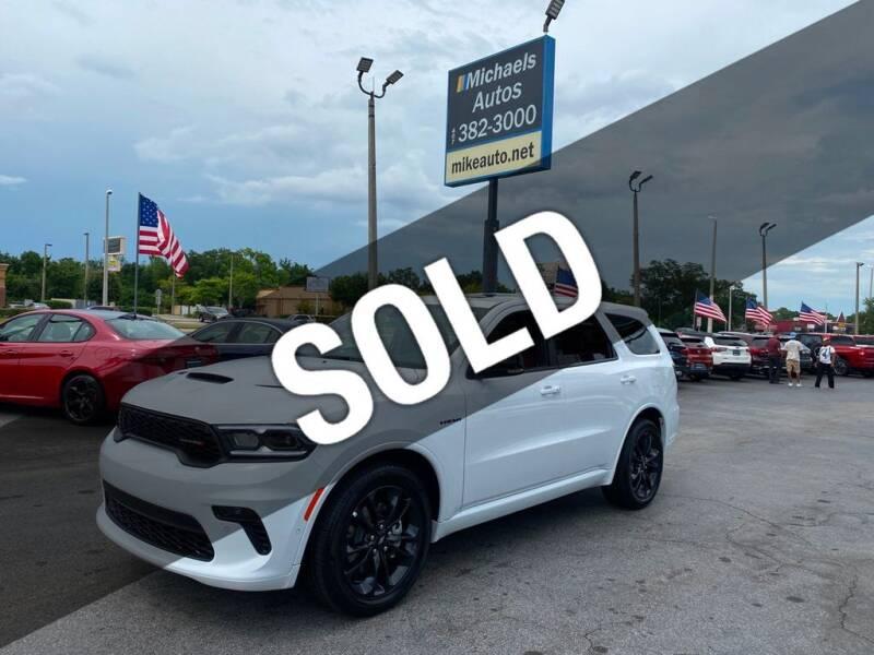 2021 Dodge Durango for sale at Michaels Autos in Orlando FL