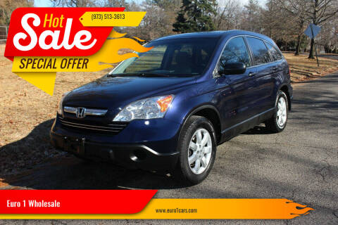 2009 Honda CR-V for sale at Euro 1 Wholesale in Fords NJ