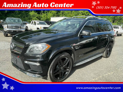 2013 Mercedes-Benz GL-Class for sale at Amazing Auto Center in Capitol Heights MD