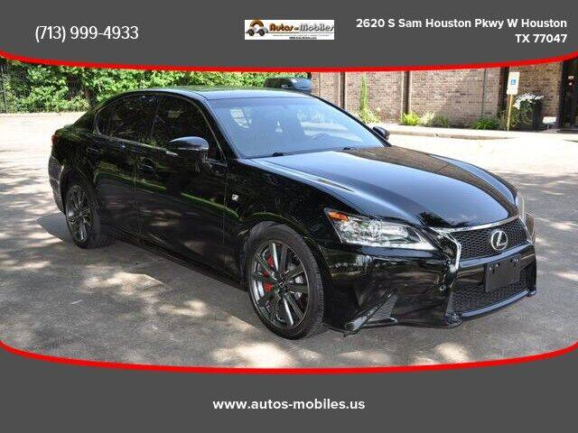 2014 Lexus GS 350 for sale at AUTOS-MOBILES in Houston TX