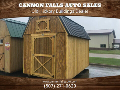 2020 Old Hickory  8X12 Lofted Barn Lofted Barn for sale at Cannon Falls Auto Sales in Cannon Falls MN