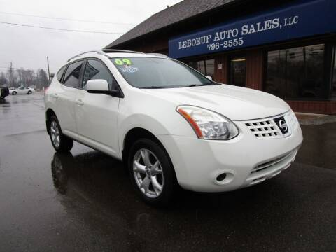 2009 Nissan Rogue for sale at LeBoeuf Auto Sales in Waterford PA