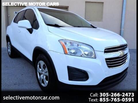 2016 Chevrolet Trax for sale at Selective Motor Cars in Miami FL