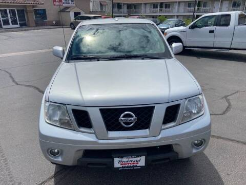 2011 Nissan Frontier for sale at Boulevard Motors in St George UT