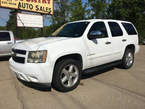 2007 Chevrolet Tahoe for sale at Town and Country Auto Sales in Jefferson City MO