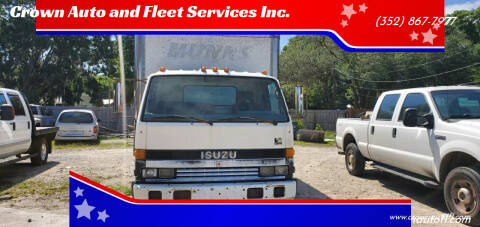 1994 Isuzu NPR-HD for sale at Crown Auto and Fleet Services Inc. in Ocala FL