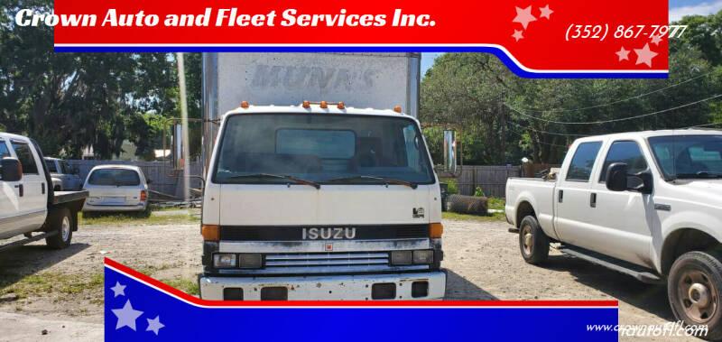1994 Isuzu NPR-HD for sale at Crown Auto and Fleet Services Inc. in Ocala FL