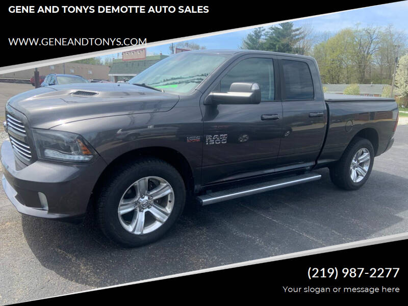 2015 RAM Ram Pickup 1500 for sale at GENE AND TONYS DEMOTTE AUTO SALES in Demotte IN