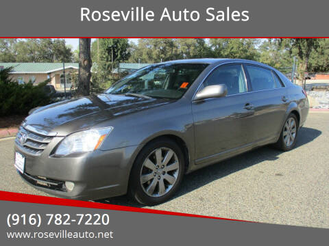 2005 Toyota Avalon for sale at Roseville Auto Sales in Roseville CA