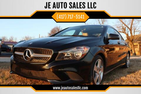 2015 Mercedes-Benz CLA for sale at JE AUTO SALES LLC in Webb City MO