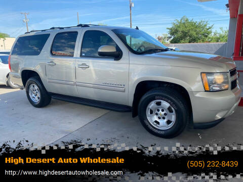 2013 Chevrolet Suburban for sale at High Desert Auto Wholesale in Albuquerque NM
