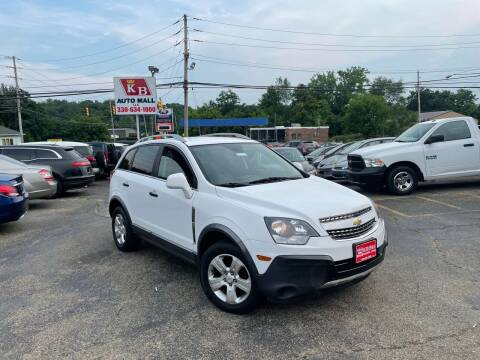 2015 Chevrolet Captiva Sport for sale at KB Auto Mall LLC in Akron OH