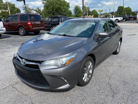 2016 Toyota Camry for sale at Brewster Used Cars in Anderson SC