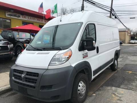 2016 RAM ProMaster Cargo for sale at Drive Deleon in Yonkers NY