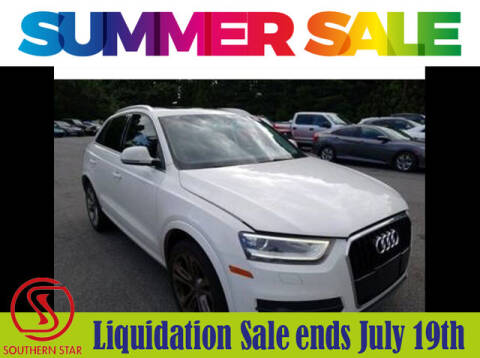 2015 Audi Q3 for sale at Southern Star Automotive, Inc. in Duluth GA