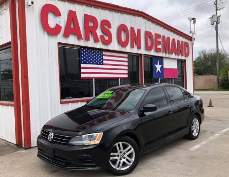 2015 Volkswagen Jetta for sale at Cars On Demand 2 in Pasadena TX