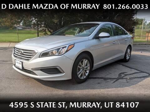 2017 Hyundai Sonata for sale at D DAHLE MAZDA OF MURRAY in Salt Lake City UT
