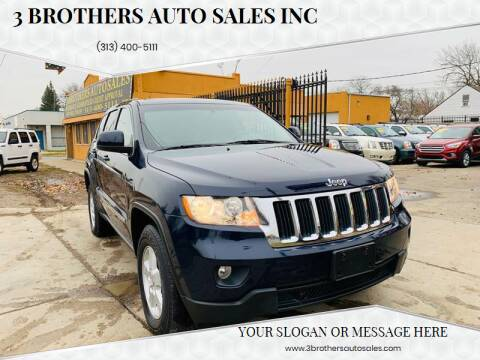 2012 Jeep Grand Cherokee for sale at 3 Brothers Auto Sales Inc in Detroit MI