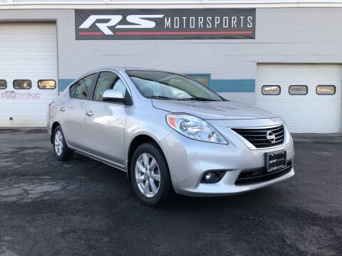 2012 Nissan Versa for sale at RS Motorsports, Inc. in Canandaigua NY