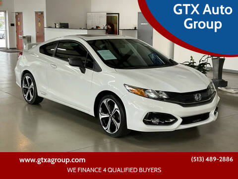 2014 Honda Civic for sale at GTX Auto Group in West Chester OH