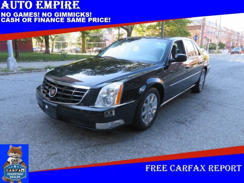 2011 Cadillac DTS for sale at Auto Empire in Brooklyn NY