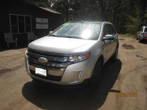 2012 Ford Edge for sale at SUNNYBROOK USED CARS in Menahga MN