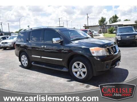 2012 Nissan Armada for sale at Carlisle Motors in Lubbock TX