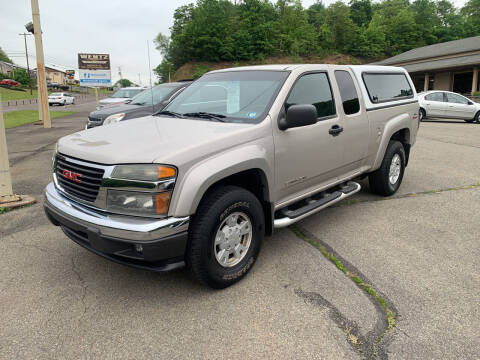 2005 GMC Canyon for sale at WENTZ AUTO SALES in Lehighton PA