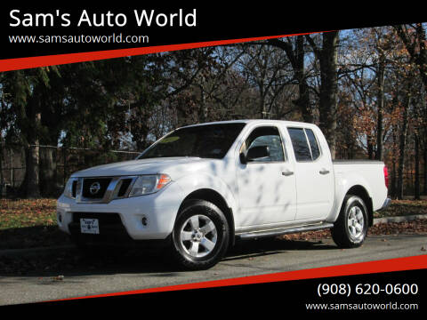 2012 Nissan Frontier for sale at Sam's Auto World in Roselle NJ