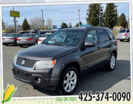 2012 Suzuki Grand Vitara for sale at Corn Motors in Everett WA