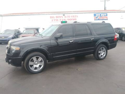2010 Ford Expedition EL for sale at Big Boys Auto Sales in Russellville KY