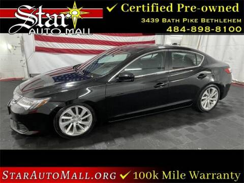 2018 Acura ILX for sale at STAR AUTO MALL 512 in Bethlehem PA